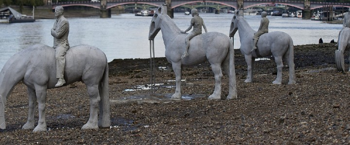 The 4 Horsemen in the River Thames
