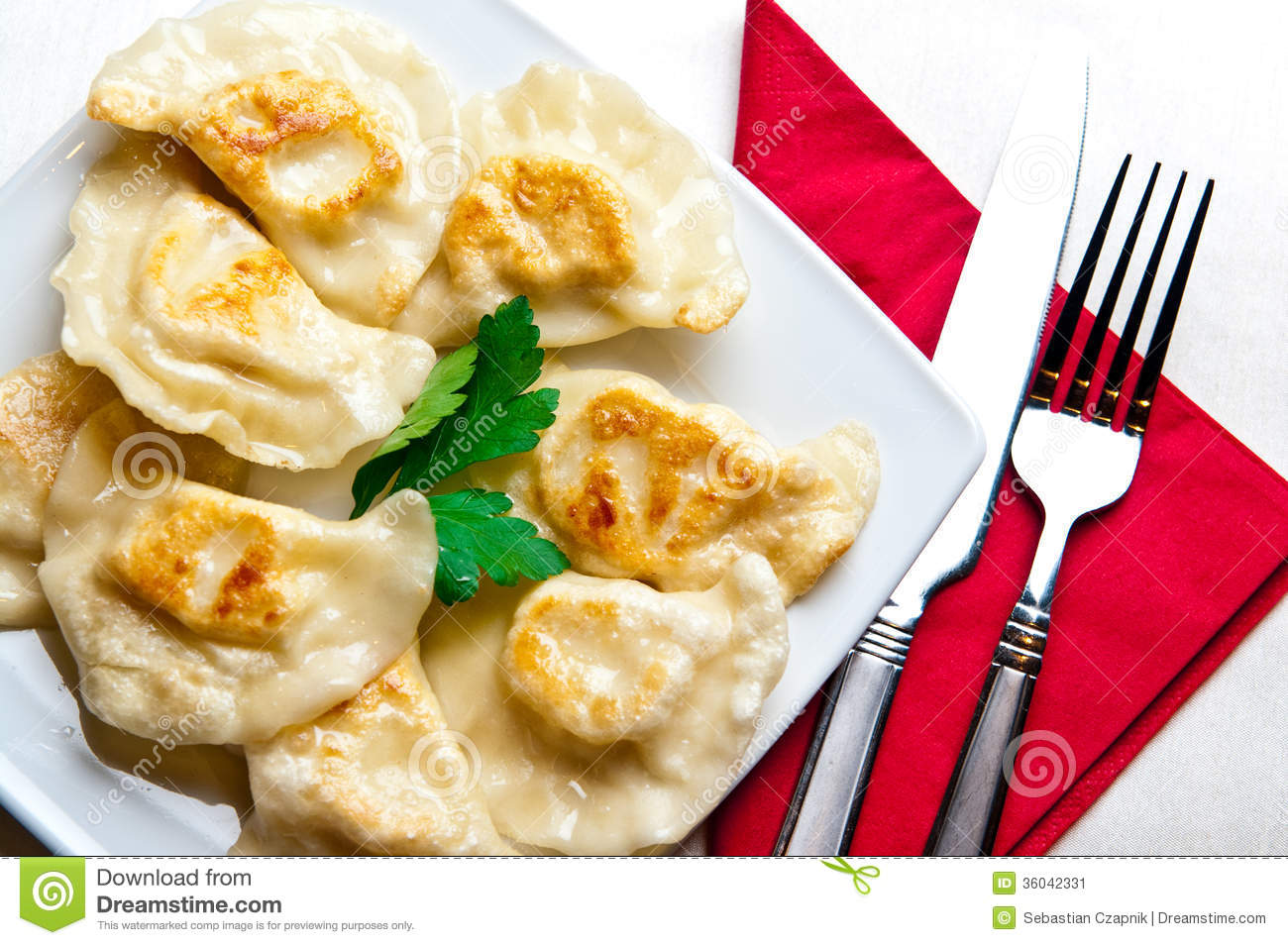 Food from the World: Pierogi