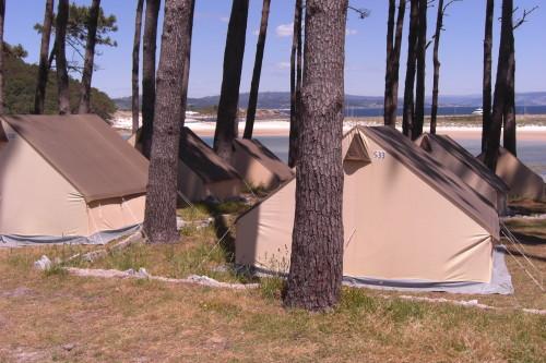 Camping, Cies Islands