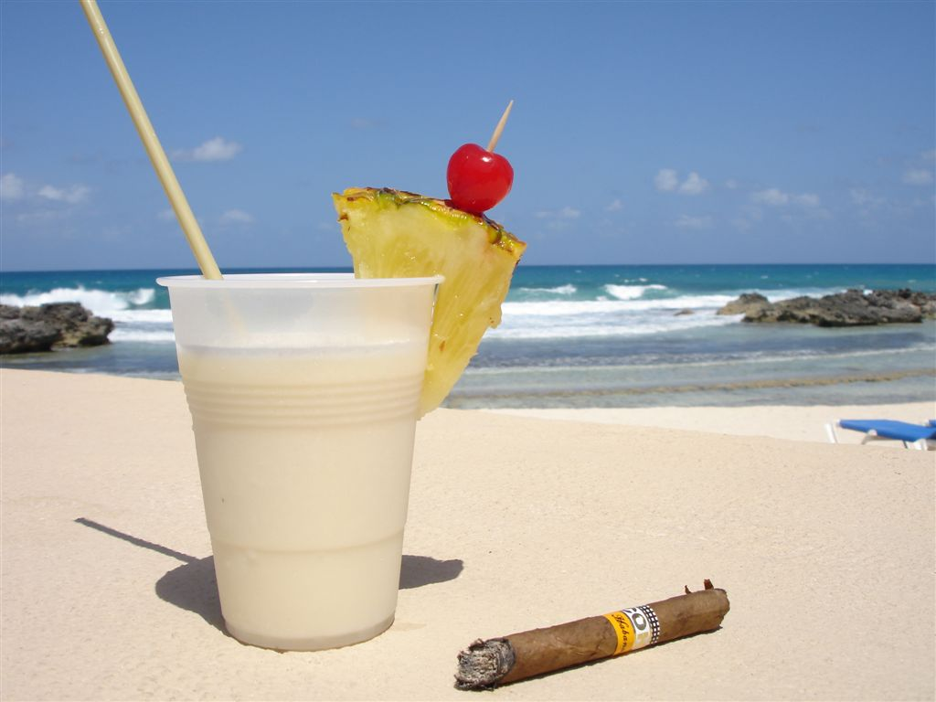 Pina Colada and a Drop of Extra Fun