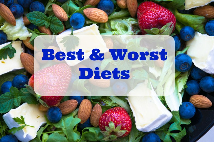 2 Worst and 3 Best Diets in the World
