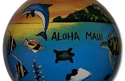 Collectible Hawaiian Family Vacation Christmas Ornament Aloha Maui (FV/M)