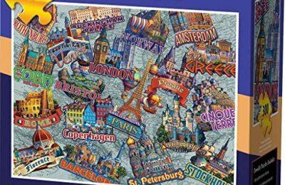 Dowdle Jigsaw Puzzle – Travel Europe – 300 Piece