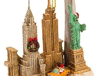 Kurt Adler 3.75 Inches Tall City Travel New York City Ornament