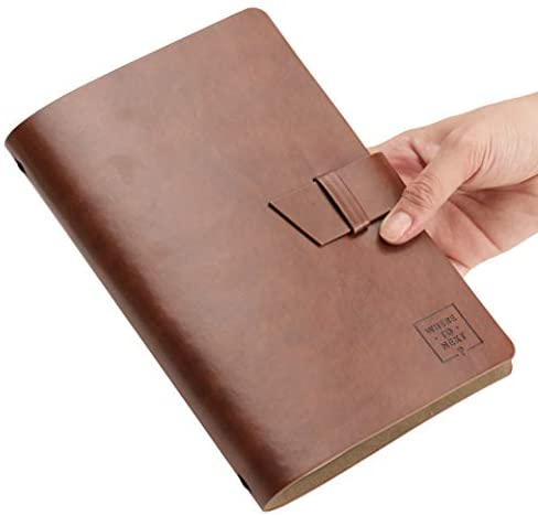 Where To Next Undated Travel Planner - Leather Bound, A5 Size, Monthly/Weekly Pages | Perfect as a Travelers' Journal and Diary | Great Adventure Organizer for Your Trip