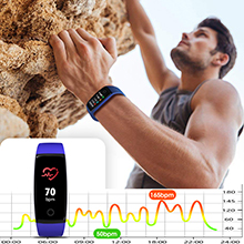 blood pressure/heart rate monitor blood pressure oxygen monitor watch fitness tracker fitbit for men