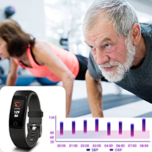 waterproof activity tracker kids blood pressure monitor tracker heart rate bracelet BP monitor