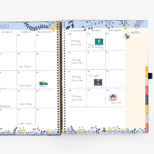 Planner 2021 Letter size Weekly View Monthly View Calendars Planning Pages Bill trackers Stickers