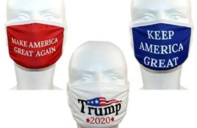 Trump Face Mask 3-PACK |Reusable & Washable Anti Dust Mouth Fashion Balaclava Cover | Breathable Bandanna with Carbon Filter Slot | MAGA KAG TRUMP 2020 | Men Women Outdoor Indoor (ORIGINAL)