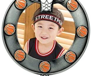 Basketball Christmas Photo Ornament Dated 2021 Keepsake – High School Sports All Stars Team Photo Holder Ornament – Travel Team Football Pictures Seniors