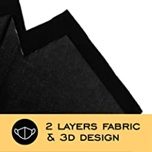 3 Layers FaceCovers