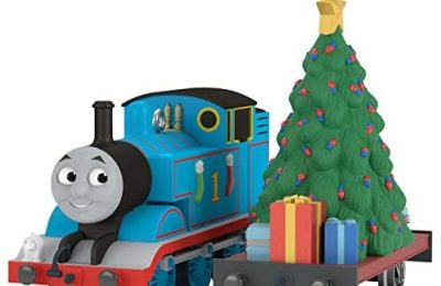 Hallmark Keepsake Christmas Year-Dated Thomas The Tank Engine A Tree Train Ornament, Set of 2, 2 Count