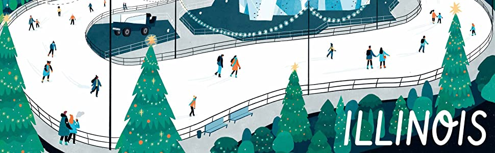 ILLINOIS - ICE SKATE IN CHICAGO