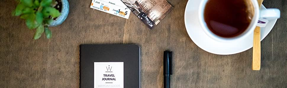 waypoint goods travel journal