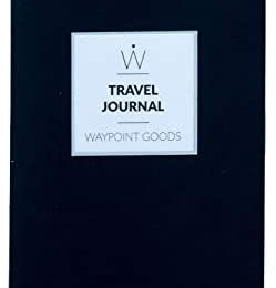 WAYPOINT GOODS // Travel Journal with Daily Prompts, Unique Questions, Packing List, Trip Organizer and Planner