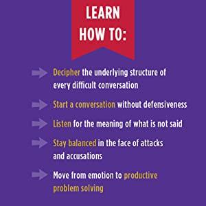 Difficult Conversations, Bruce Patton, Sheila Heen, Roger Fisher, help guide