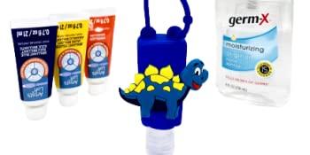 easy to refill mini hand sanitizer bottle spray