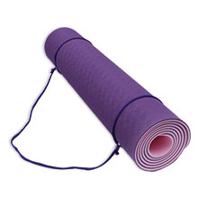 Yoga mat strap for