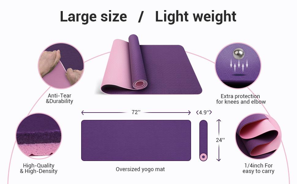 comfy yoga mat