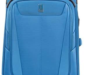 Travelpro Maxlite 5-Softside Lightweight Expandable Upright Luggage, Azure Blue, Carry-On 20-Inch