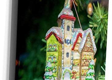 3dRose Danita Delimont – Jim Engelbrecht – Decorations – Christmas ornament for sale, Rothenburg, Germany – Museum Grade Canvas Wrap (cw_188533_1)