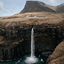 Cliffs waterfall