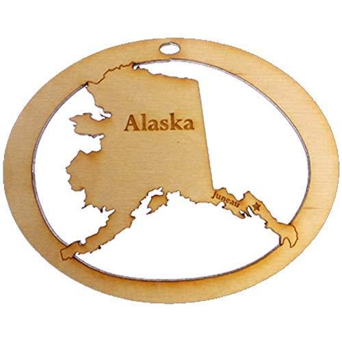 Personalized Alaska Ornament - Alaska Souvenir - Alaska Christmas Ornament