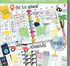Create 365 Happy Planner Sticker Value Pack, Travel, 1281