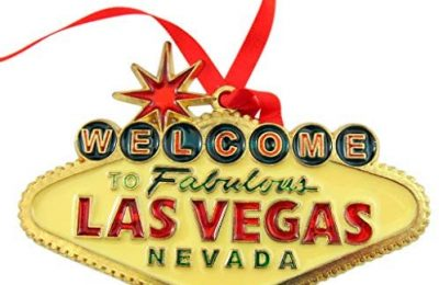 Las Vegas Sign Ornament Christmas Tree Decoration Gift