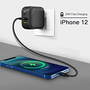 iPhone 12 20W PD Charger