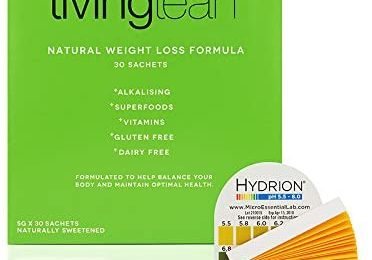 Living Lean Detox Cleanse Immunity Kit Refill Pack – Vegan Natural Organic -Alkaline Your Body- Sustainable Weight Loss & Digestion Support – Colon, Kidney, Liver & Bowel Cleanser 30 Sachet