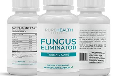Fungus Eliminator Toenail Care Formula By PureHealth Research, 1 Bottle
