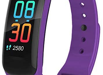 Fitness Tracker,Activity Tracker Watch with Body Temperature Heart Rate Blood Pressure Monitor,Smart Watch with Step Counter,Calorie Counter,Sleep Monitor for Kids Women and Men