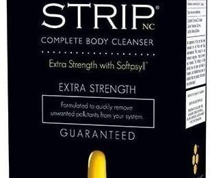 Strip NC Complete Body Cleanser- Extra Strength with Softpsyll- 1 Fast Dissolve Softgel by Wellgenix