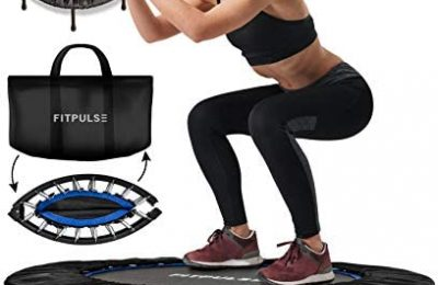 FITPULSE Mini Trampoline for Adults – Rebounder Trampoline Indoor Trampoline for Adults Small Trampoline Fitness Trampoline Exercise Trampoline for Adults Rebounder for Adults Workout Trampoline for Adults