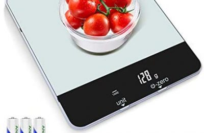 Food Scale with LED Display – Multipurpose Digital Food Kitchen Scale Weight Grams and oz for Cooking/Baking/Dieting, 1g Precise Graduation