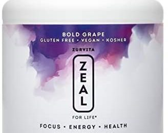 Zurvita Zeal for Life 30-Day Wellness Canister, 420 Grams, Bold Grape
