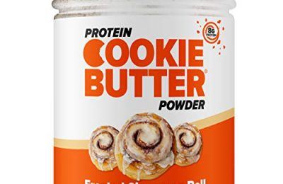 FDL – Keto Protein Powder Cookie Butter – Low Carb Food – Easy to Mix, Bake and Spread – 4g Net Carb – 8.32oz (Frosted Cinnamon Roll)