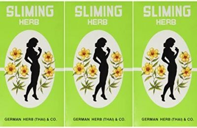 (3 PACKS)50 Bags Slimming German Herb Sliming Tea Lose Weight Burn Diet Slim Fit Fast Detox by SLIMING HERB