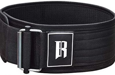 Quick Self Locking Weight Lifting Belt – Premium Weightlifting Belt for Weightlifting, Powerlifting, Bodybuilding, Olympic Lifting and Functional Fitness- Weight Training Lifting Belt for Men & Women
