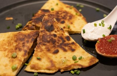 It's a spring quesadilla throwdown between Chipotle and Taco Bell