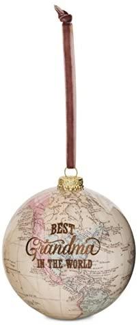 "Pavilion Gift Company 61019 Grandma Globe Ornament, 3-3/4"""