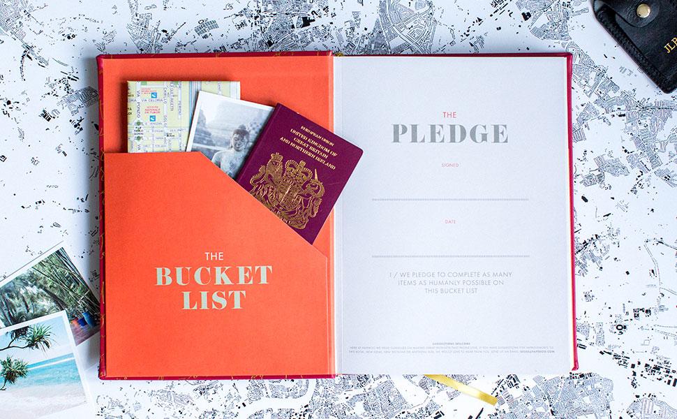 bucket list diary