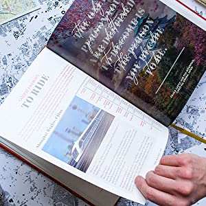 bucket list book travel guide coffee table adventure inspiration