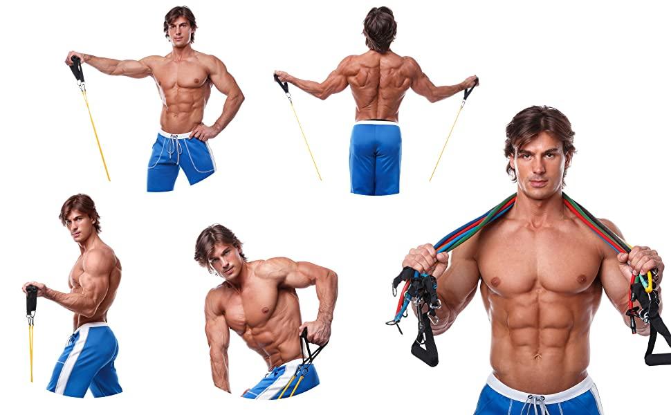 de resistencia stretch mat squat strength medicine ball free barbell trx kettlebell machine bandas
