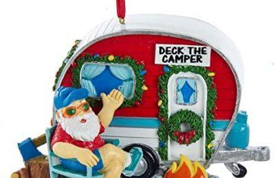 Kurt Adler Vintage Santa Camper Ornament
