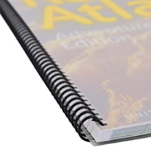Spiral binding and cover