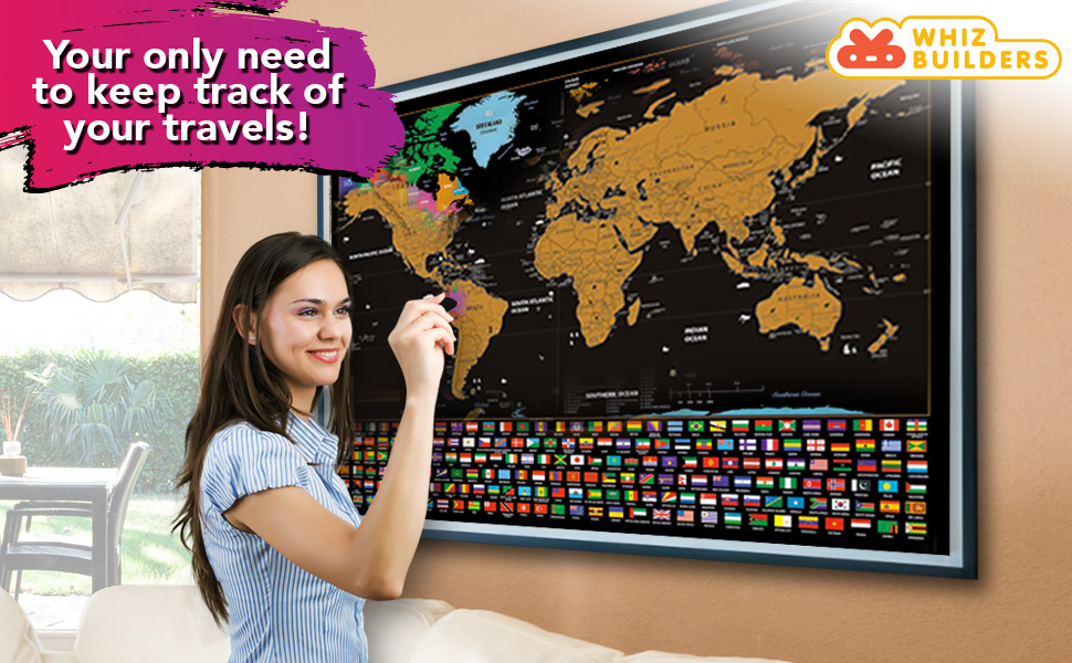 keep track of your travels using map
