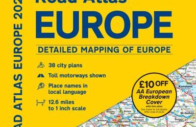 Road Atlas Europe 2020 (AA Road Atlas Europe)