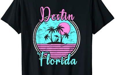 Destin Florida Fl Beach Travel Souvenir Gift. T-Shirt